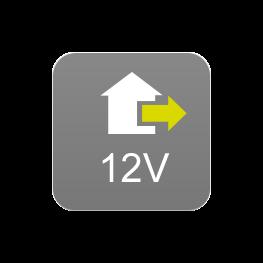 Alimentación exterior 12V