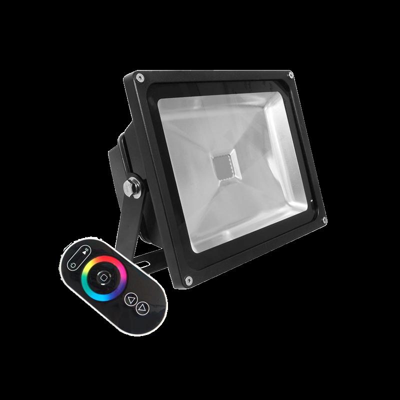 Projecteur extérieur led RGB