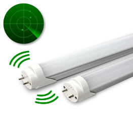 Tubo led radar presencia